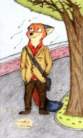 Zootopia Art : Augie (Original Character) by AgiAutobots