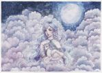 Above the clouds by ARiA-Illustration