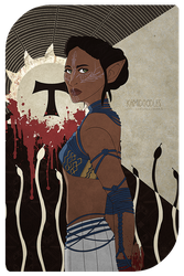 Commish - Inquisitor for kunstpause @ tumblr by kamidoodles