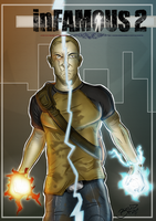 Cole from InFamous 2 by BouncieD