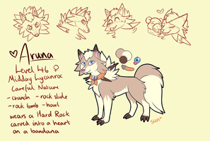 Aruna | 2018 Pokesona by sunkissin