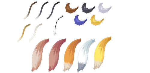 CM3D2: Pack 2 (Tails Accessory) by Jalmod