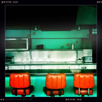 Empty Diner by semper