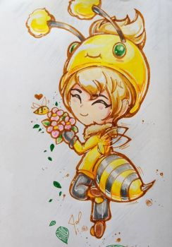 Beemo boy chibi version aww by JamilSC11