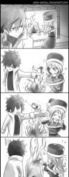 Gruvia - Happy Holidays by Arya-Aiedail