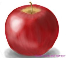 Multi-Media project, Apple by Lily-the-pink
