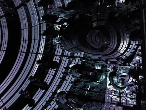 Mandelbox-TechnoTrouble by PrinceChartreuse