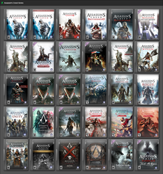 Assassin's Creed Series by GameBoxIcons