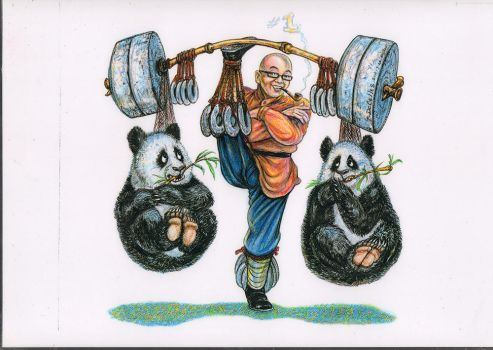 Chinese Kung Fu by PierreDeCelles