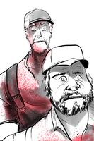 October Horror 2015 - Tucker and Dale vs Evil by EyeOfSemicolon