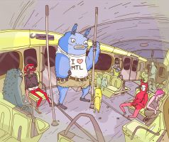 Montreal Metro by atomier