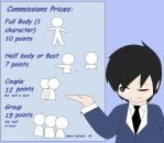 Commissions Prices by wizardotaku