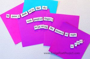 The Daily Magnet #256 by FridgePoetProject