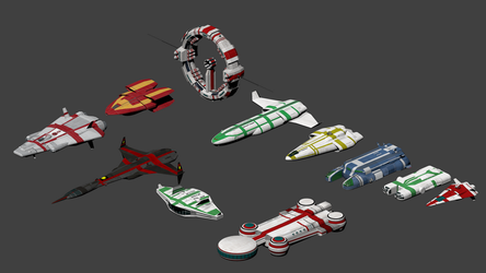 Traveller: Classic ships of the 3rd Imperium by wbyrd