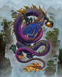Good Fortune Dragon by wallace