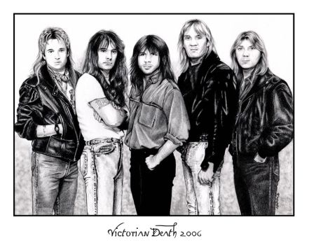 Iron Maiden 1986 by victoriandeath