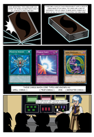 YuGiOh Azure Shadows C01 page01 Let's Duel! by DarkHedgehog23