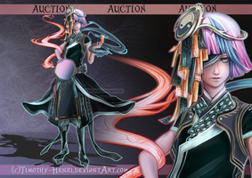 (CLOSED) - Mirror Shaman Adoptable Auction #024 by Timothy-Henri