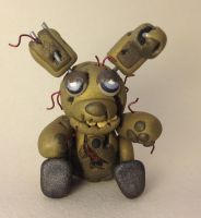 Springtrap Figurine by ClayfulCreature