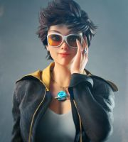 Tracer Overwatch by rohancreates