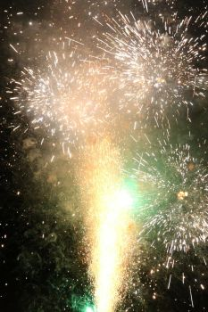 Fireworks Stock 37 by Malleni-Stock