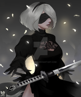 2B_valentine exchange! by artmunnn