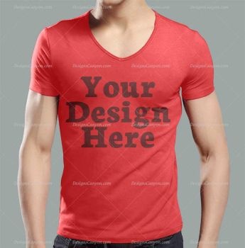 T-shirt-Mockup-PSD-Template by DesignsCanyon