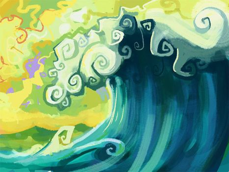 the Wave by raynoa