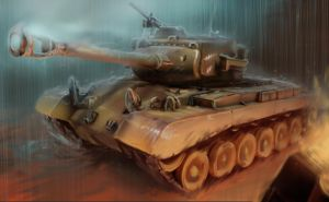 M26 PERSHING by alphacat-1