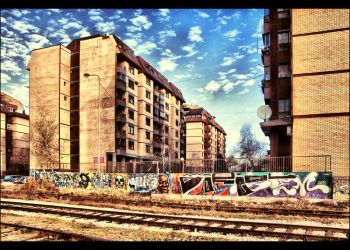 In the ghetto by Srboraa