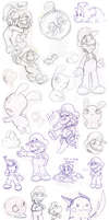Doodles 13 by Nintendrawer
