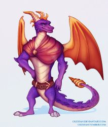 Reignited Adult Spyro by Olessan