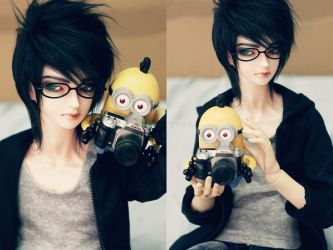Minion and Me by dollstars