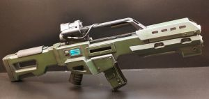 DOOM Reaper Rifle 004 by Matsucorp