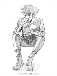 Spike Spiegel by ArtofTu