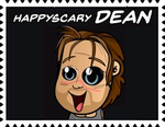 HappyScary Dean's Stamp by RalphAguilar462