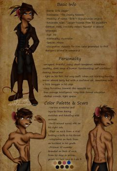 Character Profile: Erik Jaeger by ALS123