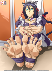 OC marie's feet by RankerHen