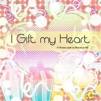 I Gift my Heart Brushes by Coby17