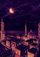 Arabian Nights by Hosio