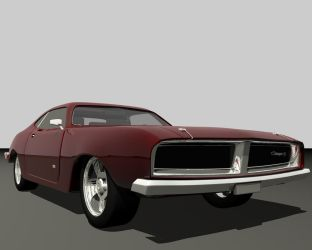 '69 Charger RT by drui-anomalis