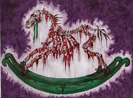 Horror Horse by Omnicenos
