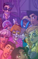 Party at the Club by OverlordGirgy