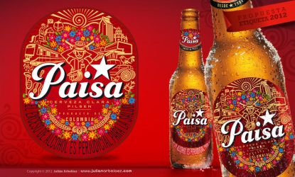 Etiqueta Pilsen 2012 by JulianArbelaez