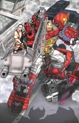 Optimus Prime and Mr. OP Ver.2 by shumworld
