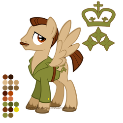 Reference Sheet: The Brigadier by LissyStrata