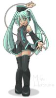 Miku Hastune by liarexit
