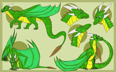 Draggu Sketches [COMMISSION] by Morglen