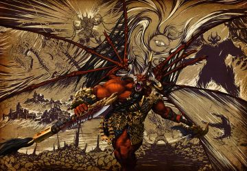 ~Skarbrand the Exiled One~ by Luches