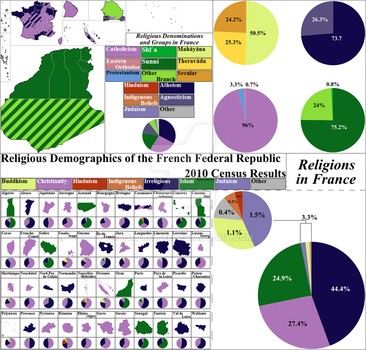 FR Religious Demographics of France 2010 by Iori-Komei
